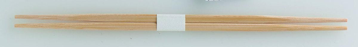 Bamboo Chopsticks RANCHU with white band 24㎝(T-304)
